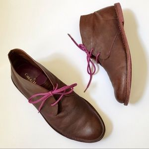 Cole Haan Nike Air Brown Leather Chukka Boot